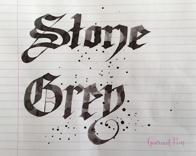 Ink Shot Review Graf Von Faber-Castell Stone Grey @GouletPens @FaberCastell (6)