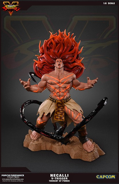 Pop Culture Shock Collectibles 快打旋風V【狂戰士Necalli:力の奔流】V-Trigger 技完全啟動!!