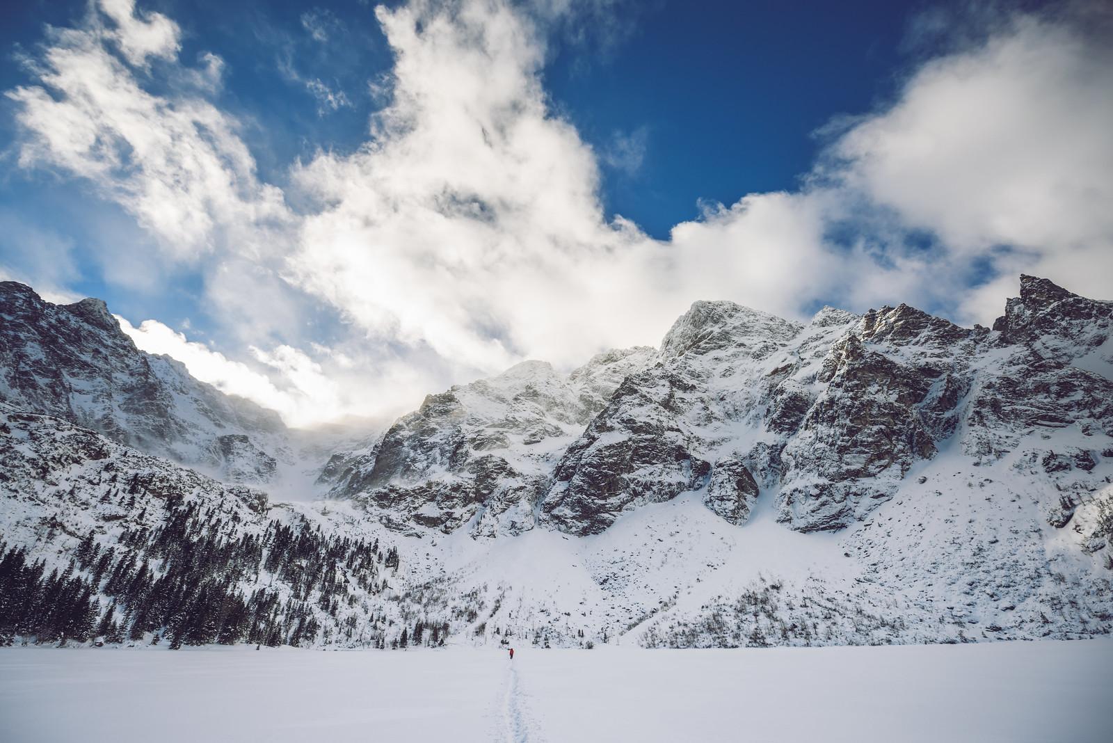 Morskie Oko Lake | Winter