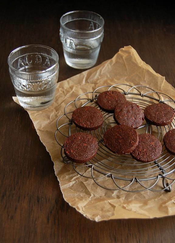 Mocha slice cookies / Biscoitos mocha