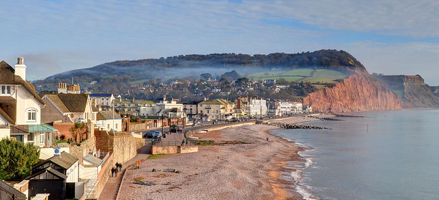 The coast at Sidmouth, Devon (Explored)