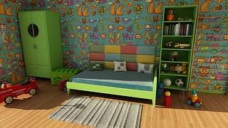 子供部屋 by pixabay