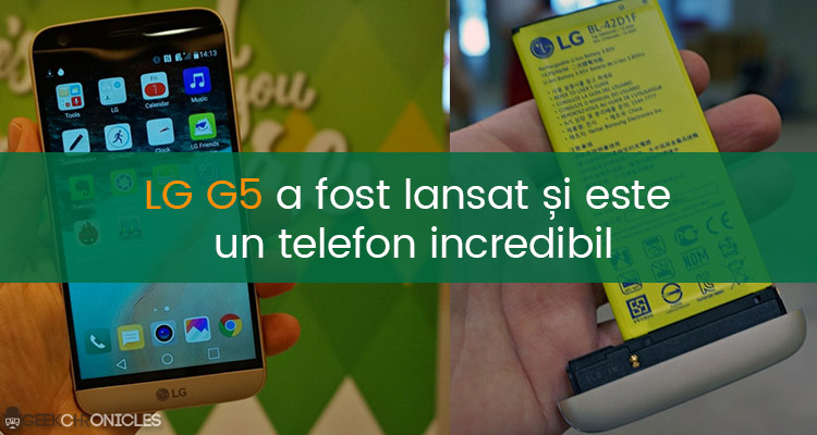 LG G5 specificatii complete
