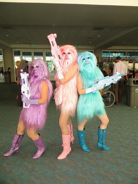 Wookie Charlie's Angels