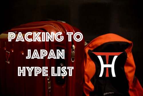 Packing to Japan