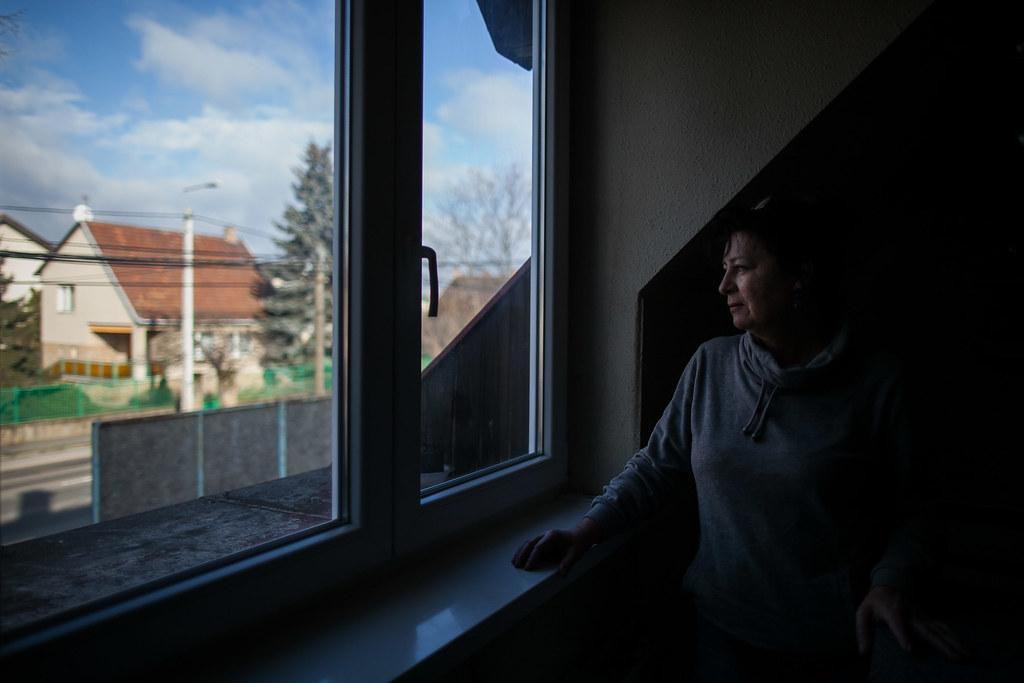 Paulovics Ágnes pestszentlőrinci lakásában | Fotó: Magócsi Márton