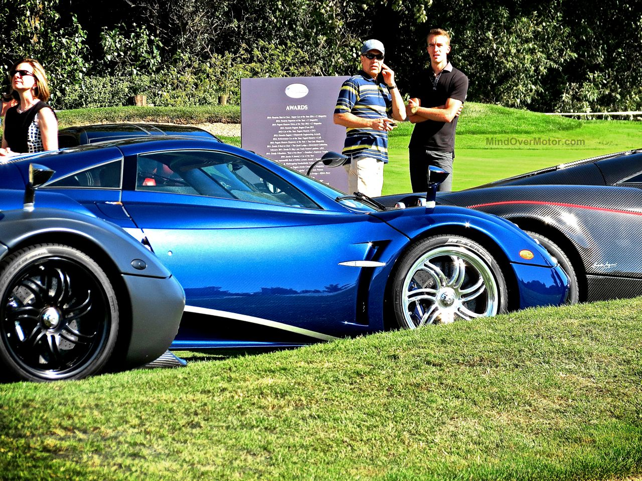 Pagani Huayra Blue Carbon The Quail 3