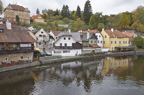 【写真】東欧周遊 : ヴルタヴァ川沿い
