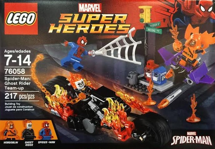 LEGO Super Heroes 2016: 76058 - Ghost Rider Team-Up