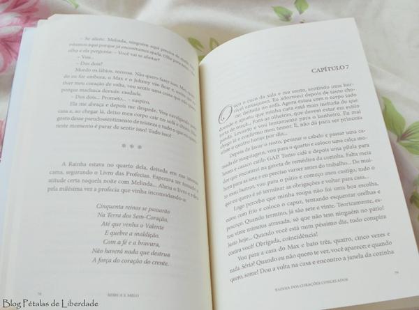 diagramação, livro, Rainha dos corações congelados, Rebeca S. Melo, Bookstart, trecho