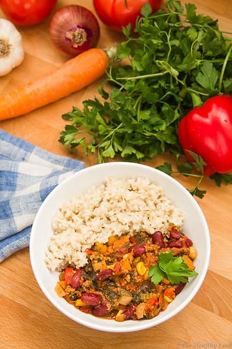 Chili con Carne - Τσίλι κον κάρνε