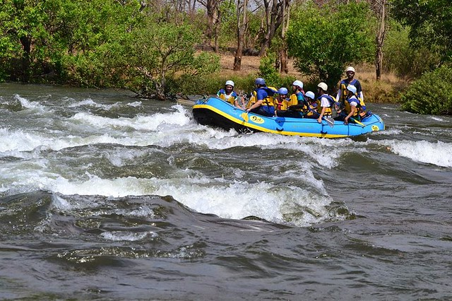 White Water Rafting on Kundalika River Near Mumbai