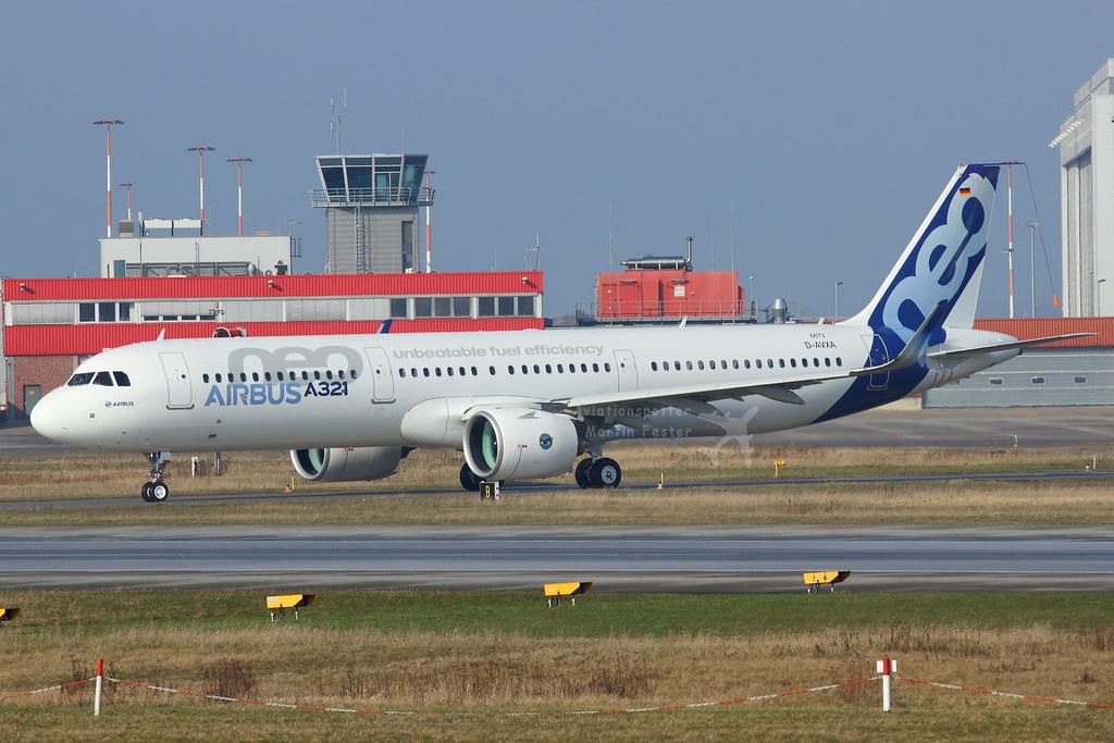 D-AVXA - A21N - Airbus