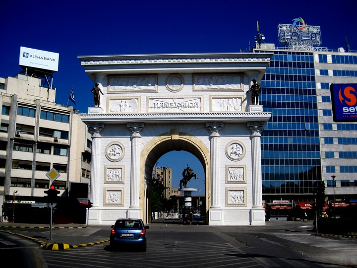 Arco del Triunfo de Skopje