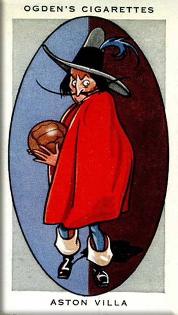 Picture of Ogdens's cigarette card - Aston Villa