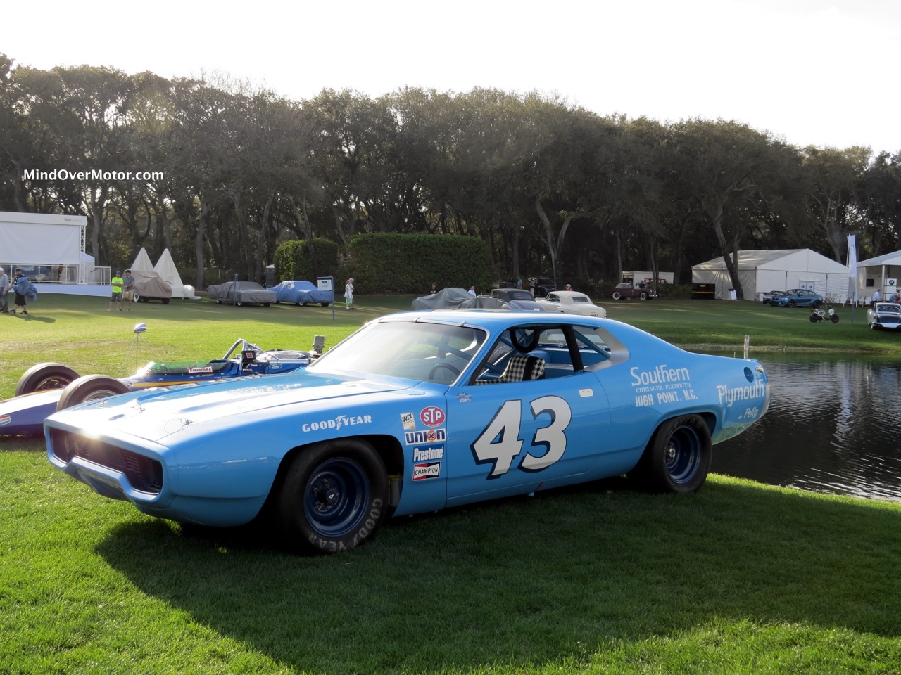 1971 Plymouth Road Runner NASCAR Front Angle 2