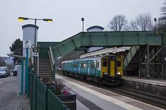 Llandaf station, Cardiff, south Wales