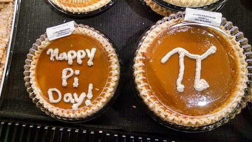 Pi Day at Wegmans Supermarket