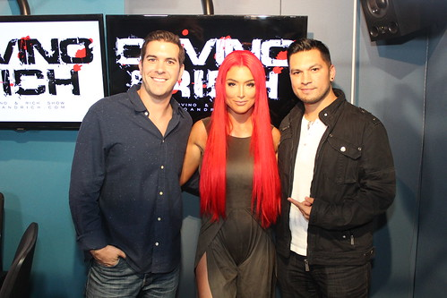 WWE Diva Natalie Eva Marie on the Covino & Rich Show