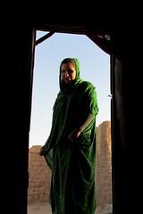 Fatuma, jeune sahraouia