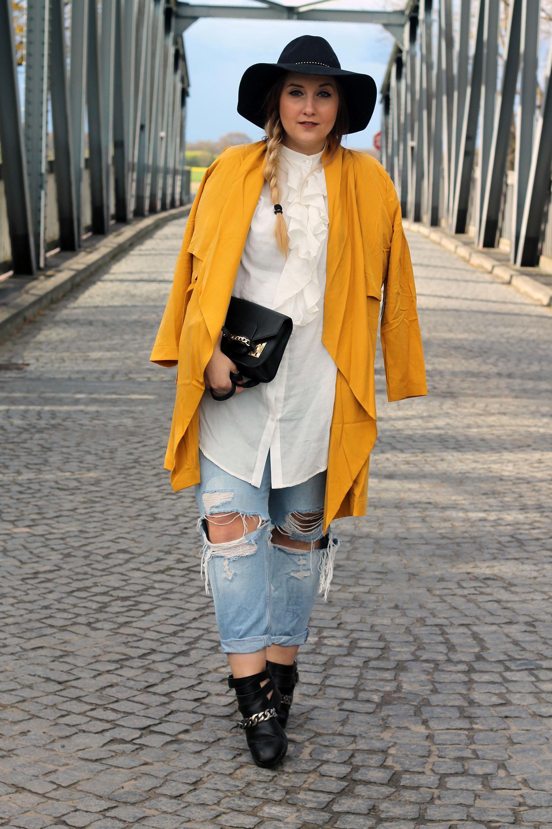 outfit-modeblog-fashionblog-primark-tasche-gelber-mantel