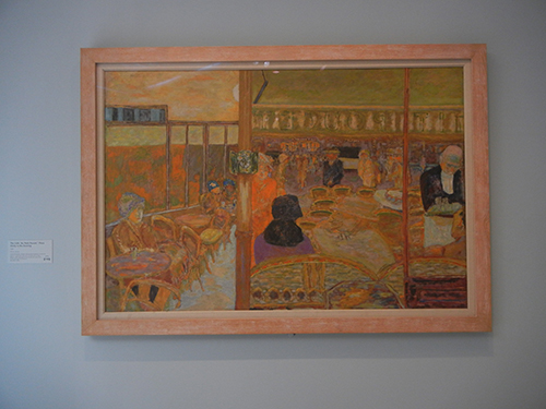 "Pierre Bonnard, Legion of Honor, SF - The  Café ""Au Petit Poucet"", Place Clichy in the Evening _  1896"