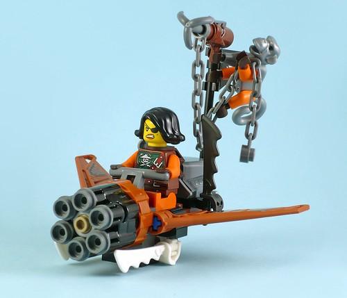 LEGO Nijago 70602 Jay's Elemental Dragon 07