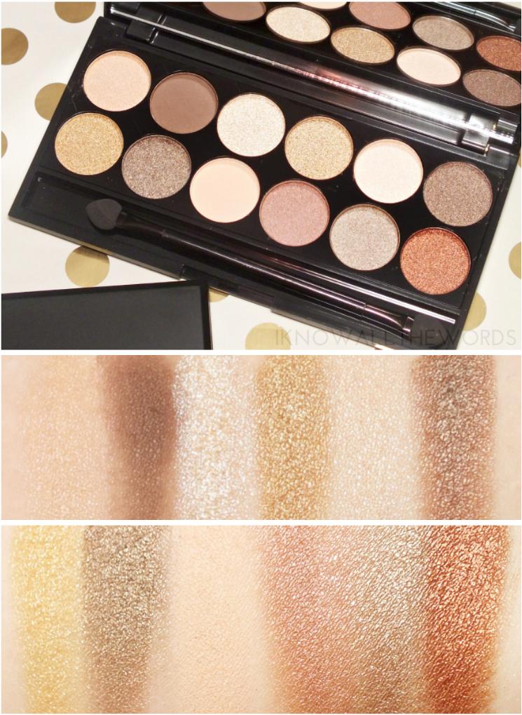 sleek i-divine all night long eyeshadow palette
