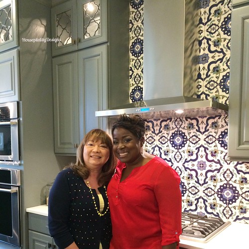 Me and Tiffany Brooks at HGTV Smart Home - Housepitality Designs