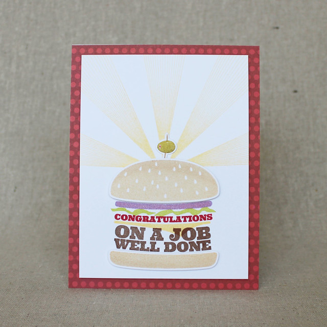 Well Done Burger Card