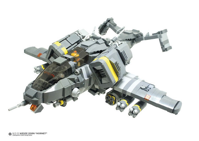 "FRONT VIEW: WZ-13 Wespe Zorn ""Hornet"""