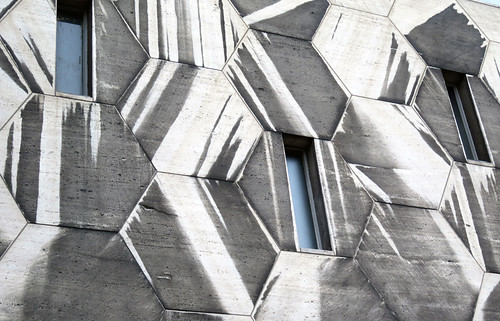 Octagonal Shapes dominate this Geometric Architecture in Rotterdam, Holland