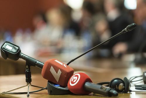 """Konference """"Sabiedrisko mediju pārvaldības modeļi kaimiņvalstīs – kalpojot sabiedrībai un vārda brīvībai"""""""