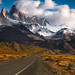 Road to Fitz Roy by Ania.Photography - Off