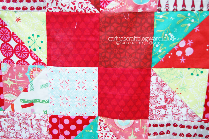 Christmas quilt 2015