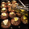 #homemade Stuffed #Mushrooms #CucinaDelloZio - a bit of mozzarella a drizzle w/olive oil