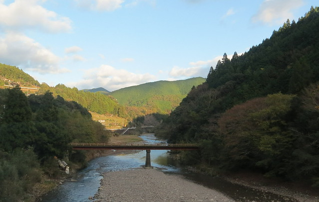 Bus journey from Kii-Tanabe to Kawayu Onsen