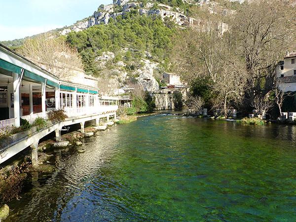 belle eau verte