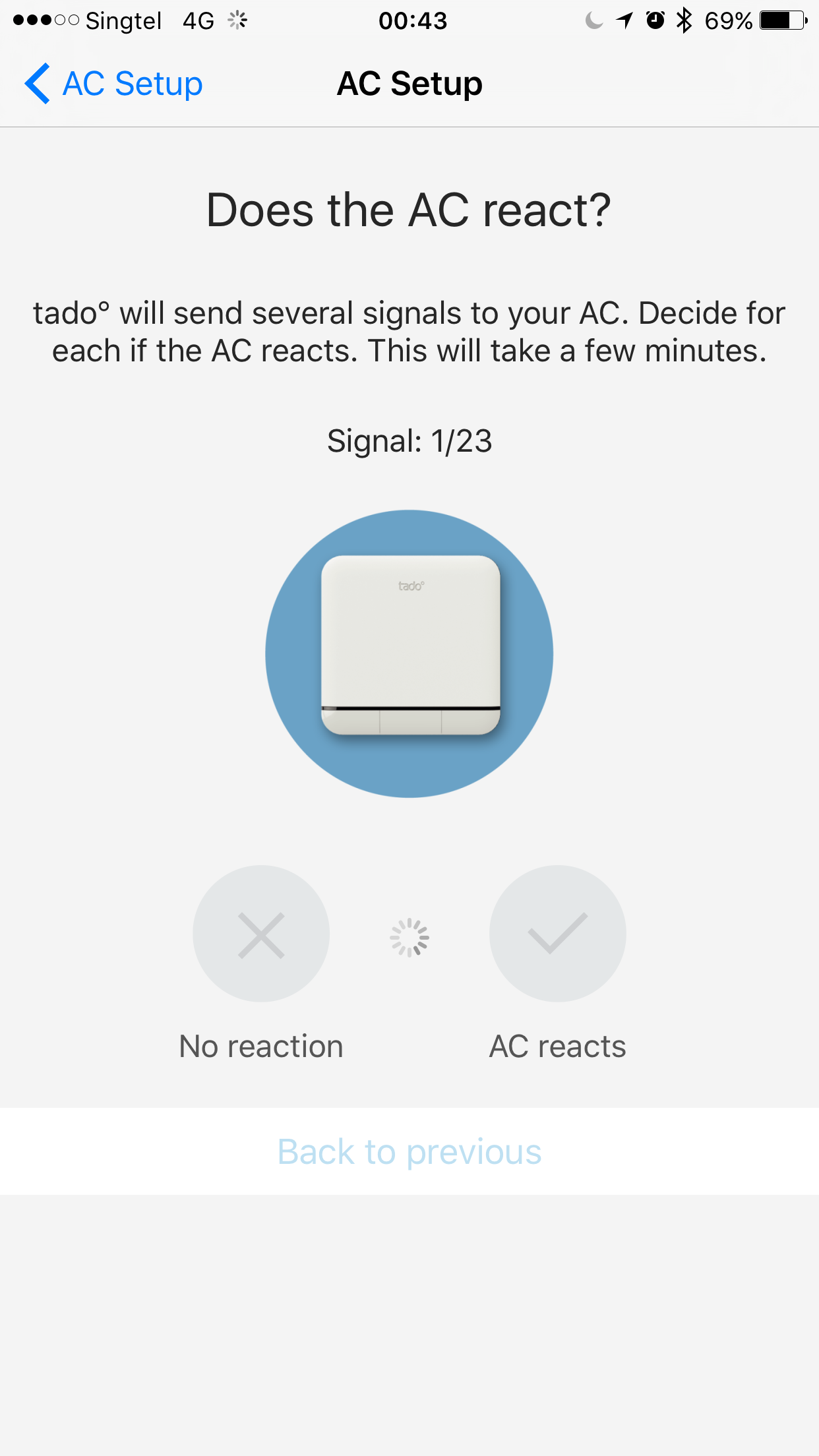 Tado Smart Ac Control Unboxing Setup Blog Wiring Diagram For Thermostat Ios App Command Signals Test 1