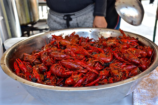asian american la hot duck crawfish