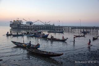 Sittwe - Fish Market