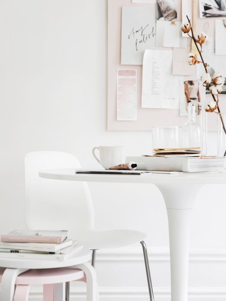 Rose Quartz Inspired Ikea Decor