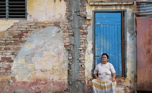 Street lady, Trinidad
