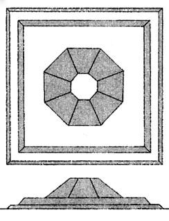 岩屋山古墳の復元図