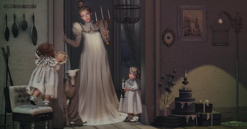 Amelie et les petites: candle lights