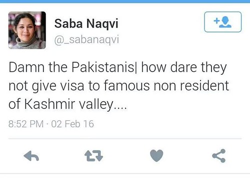 Saba Naqvi Mocks