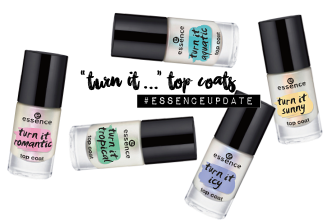 essence Bloggerevent, essence Sortimentsumstellung, essence Neuheiten Frühjahr Sommer 2016, essence turn it topcoats