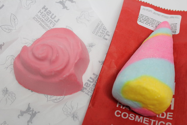 LUSH Valentine's Day review