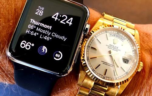 Apple Watch  «потіснив» Rolex