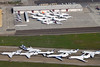 Hoard of Private Jets in Oakland for Superbowl 50